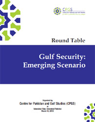 Gulf Security: Emerging Scenario